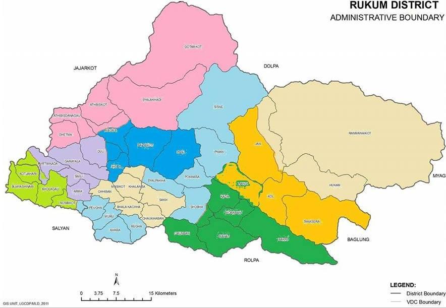 सदरमुकाम सार्ने सरकारको निर्णय बिरुद्ध रुकुमकोटबासी आन्दोलित