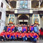 थाइल्याण्ड प्रस्थान गर्नुपूर्व दंगाली क्रिकेट टोलिले पशुपतिनाथको दर्शन गर्यो