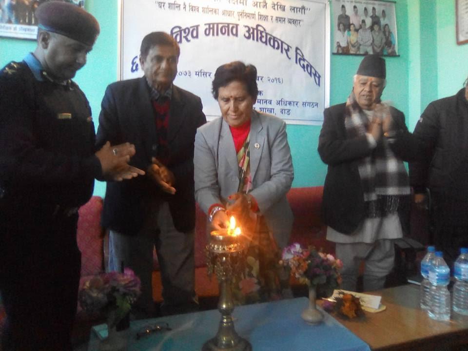 सामाजिक कुसंस्कारले मानब अधिकार हनन् : राज्य मन्त्री मल्ल