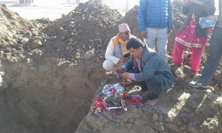 तुलसीपुर जिप तथा माइक्रो मिनिबस व्यवसायी समितिको भवन शिलन्यास