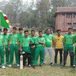 नेक्सस कप राष्ट्रिय क्रिकेटमा तुलसीपुर एकाडेमीको तेस्रो जित