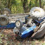 ट्रयाक्टर दुर्घटनामा एकजनाको मृत्यु
