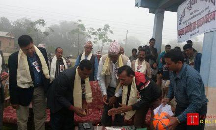 मुकुण्डाँडामा फुटबल प्रतियोगिता सुरु