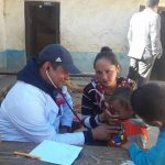दाङका स्वास्थ्य संस्थाहरुको रोल्पामा निशुल्क स्वास्थ्य शिविर