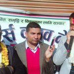 काँग्रेस लोकतन्त्र र विकासको जननी हो : राजु खनाल