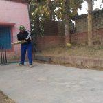 क्रिकेट पिच उद्घाटन