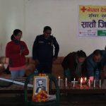 नेपाल रेडक्रस सोसाइटी जिल्ला भेला आज लिवाङमा सम्पन्न