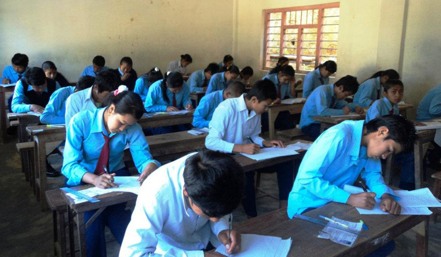 एसईईको ग्रेड बृद्धी परिक्षा सुरु, दाङमा साढे ३ हजार परिक्षार्थी