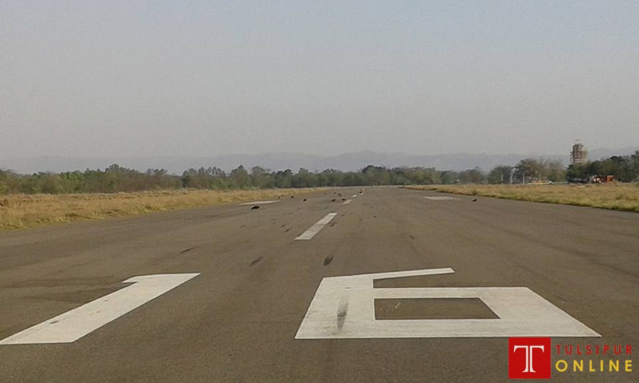 टरिगाउँ एयरपोर्टको धावनमार्ग बिस्तार गरिने