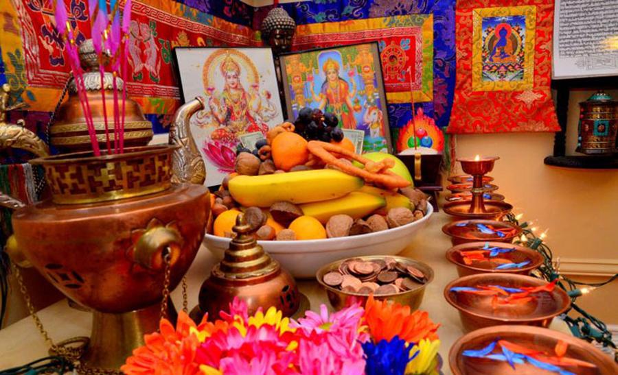 यसवर्ष कुकुर तिहार र लक्ष्मीपूजा एकै दिन