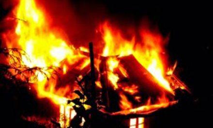रोल्पामा भिषण आगलागी, ४० घरगोठ जलेर नष्ट