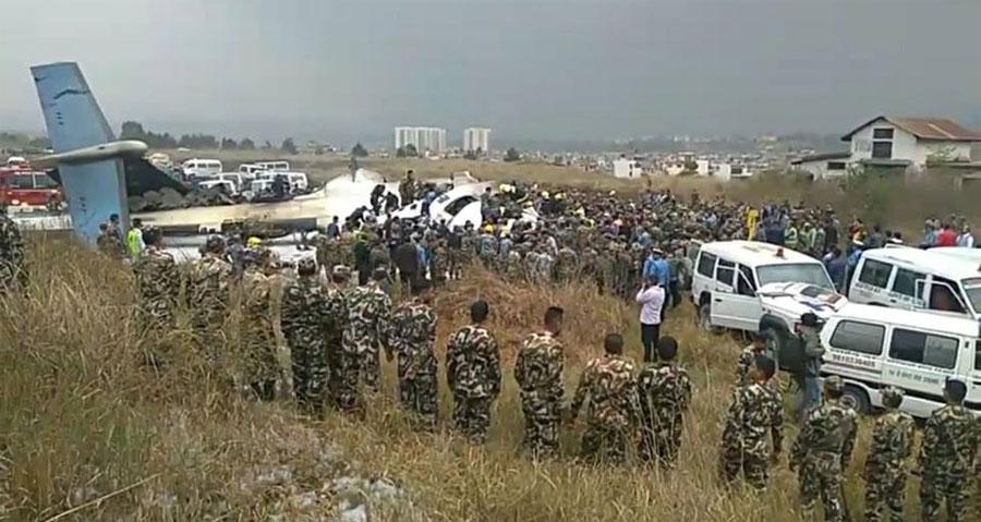 विमान दुर्घटनामा ३६ जनाको मृत्यु भएको पुष्टि