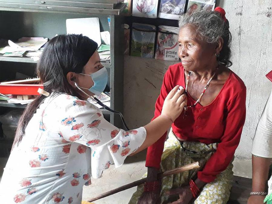 लक्ष्मीपुरमा बृहत् जेष्ठ तथा प्रजनन स्वास्थ शिविर