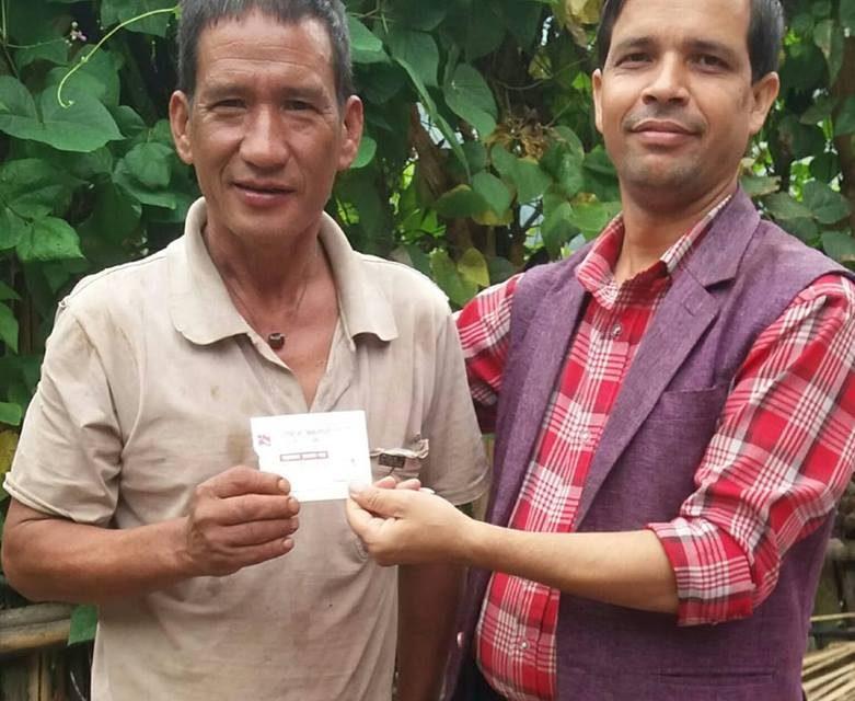 राजमो दाङको घरदैलो तथा सदस्यता अभियान जारी