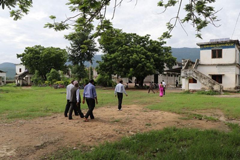 राप्ती गाउँपालिकाको दुई नमुना विद्यालयको अनुगमन