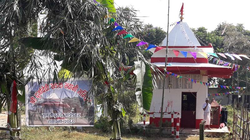 तुलसीपुरमै बृहत कोट पुजा