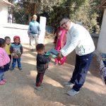 दाङको बिद्यालयलाई काठमाडौंबाट सहयोग