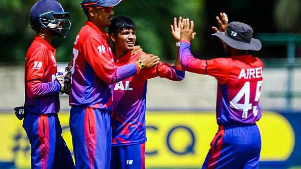 एशिया इस्टर्न रीजन टी-२० क्रिकेट: नेपाललाई १५५ रनको लक्ष्य