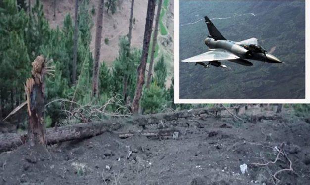 भारतले पाकिस्तानमा खसाल्यो १ हजार किलोको बम