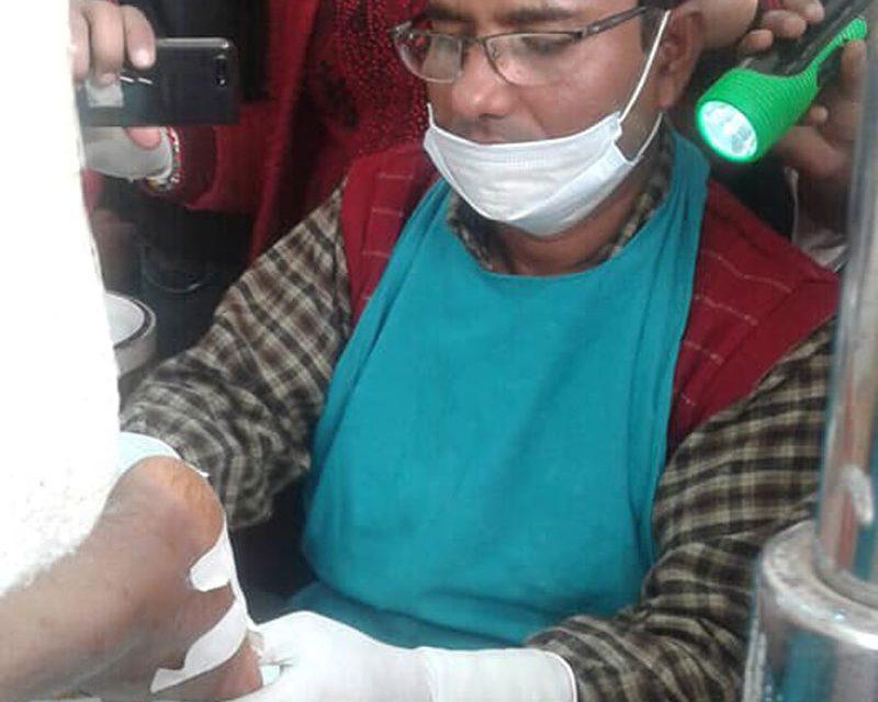 सेवा बिस्तार गर्दै क्षेत्रीय आयुर्वेद, नेपालमै पहिलो पटक अग्नीकर्मको सफल परीक्षण