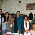 बैनित्व नेपालद्वारा दृष्टिविहिनहरुलाई फलफूल वितरण