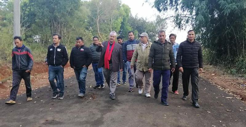ग्रामिण बस्ती जोड्न तुलसीपुरमा भित्री चक्रपथको परिकल्पना