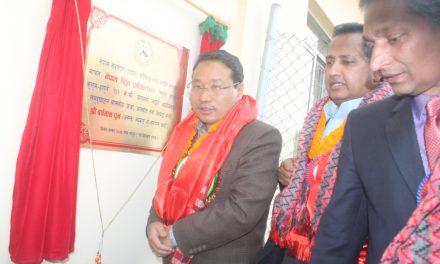 हापुरेको १३२ केभि लाईन शुरु , दाङमा लोडसेडिङ् अन्त्य : मन्त्री पुन