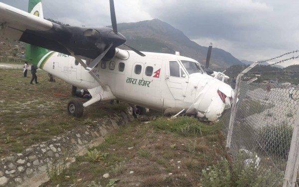 रामेछापमा तारा एयरको विमान दुर्घटना