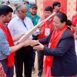 आठौ राष्ट्रिय खेलकूद : महिला क्रिकेट शुरु