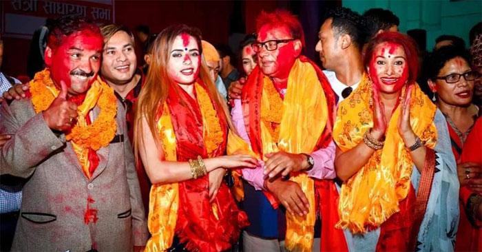 नेपाल चलचित्र कलाकार संघको अध्यक्षमा रवीन्द्र खड्का विजयी