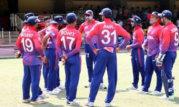 टी-२० विश्वकप एशिया छनोटका लागि २५ सदस्यीय प्रारम्भिक नेपाली टोली घोषणा