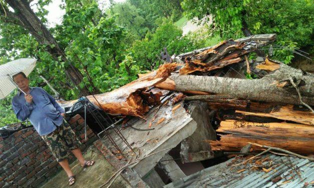 भालुवाङमा पक्की घर भत्किदा १० लाख बढीको क्षति