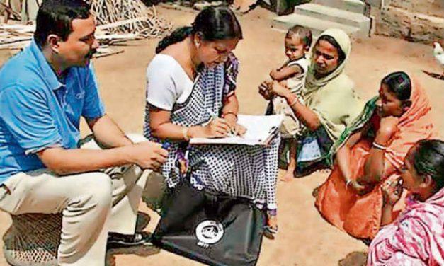 राष्ट्रिय जनगणनाको नमूना गरिँदै