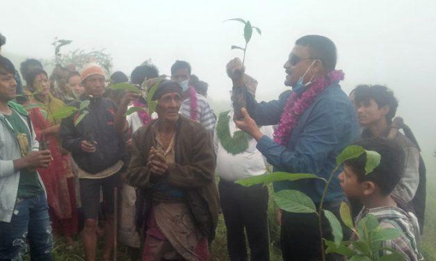 सामुदायिक वनका माध्यमबाट पर्यटकिय क्षेत्र बनाउने अभियान