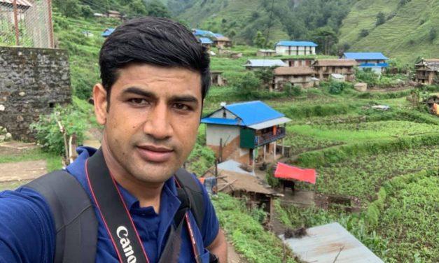 चौतारीबाट पत्रकार महासंघमा दुर्गालाल उम्मेद्धार