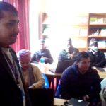 वडा सचिवहरुलाई सेवा प्रवाहका बारेमा प्रशिक्षण