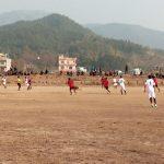 घोराहीमा जारी मेयर कप फुटवलमा वडा नम्बर ७ र १५ विजयी