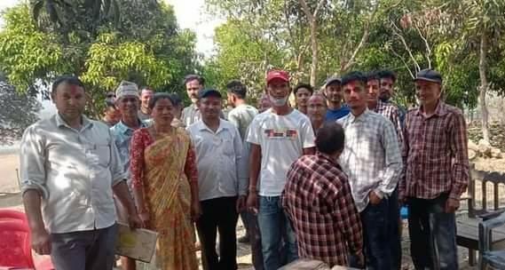राजपुर ७ मा वडास्तरिय तरुण दल गठन