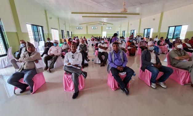तुलसीपुर नगरसभाद्धारा बजेट तथा कार्यक्रम पारित