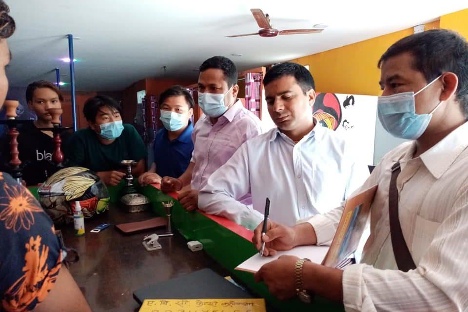 दाङ जिल्ला उद्योग वाणिज्य संघद्धारा व्यावसायीक सचेतना अभियान जारी