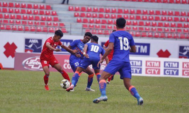 नेपाल र भारतबीच दोस्रो मैत्रीपूर्ण खेल बेलुका साढे ५ बजे हुदै